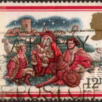 "1982 - Britain ""Christmas"" Postage Stamps - Stamps"