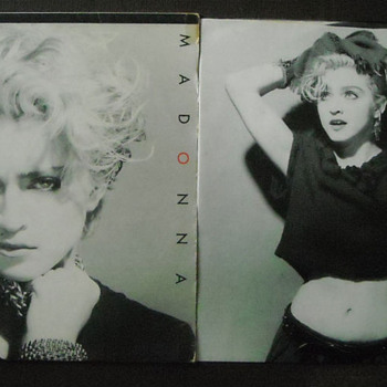 "MADONNA ""Holiday""  LP - Whoo Hoo!"