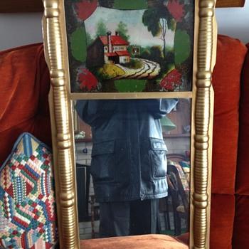 Early family mirror