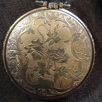 Antique 17 Jewels Erotic JS Watch Co. Pocket Watch. Moveable man's Hips to the seconds hand movement