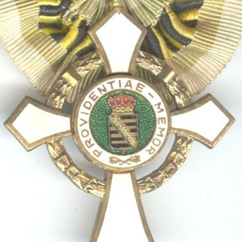 League of Saxon Front Soldiers Noncombatant Honor Cross - Military and Wartime