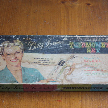Vintage Betty Furness Westinghouse Thermometer Set