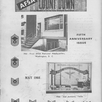 1966 AFSA News Booklet issue - Paper