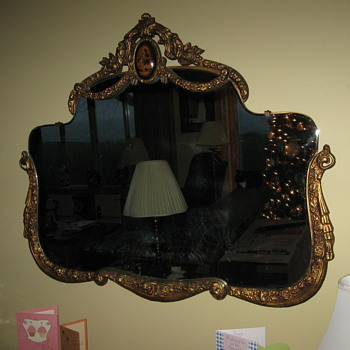 Gilded Gold Mirror - Furniture