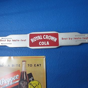 Royal Crown Cola door push - Advertising