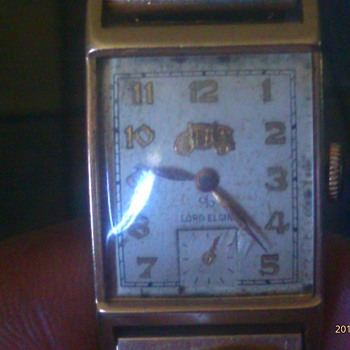My granpa&#039;s Lord Elgin watches. 