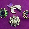 Trifari - Krementz - Liz Claiborne Costume Jewelry / Mid Century and Later
