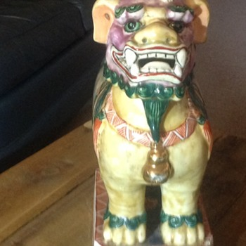 Mystery foo dog - Asian