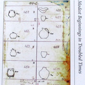 EARLY BERANEK GLASS DOCUMENTATION