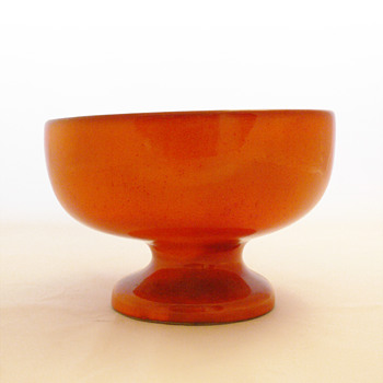 Footed bowl, Jacques and Dani Ruelland (ca. 1960) - Art Pottery