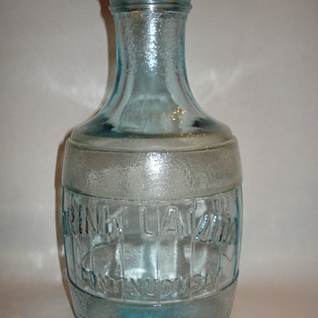 BLUE GLASS JUG - Glassware