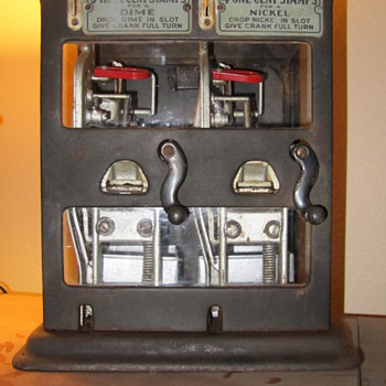 Schermack Stamp Machine - Coin Operated