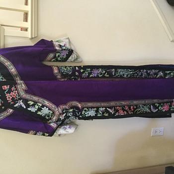 Vintage ceremonial gown