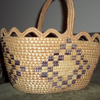 Salish  Gathering Basket - Native American