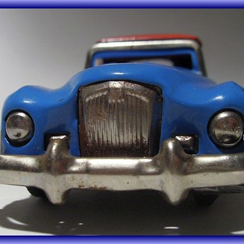 METAL LITHO TIN TOY CAR -- ((( Part 2 )))