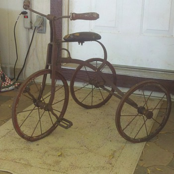 Antique Tricycle - Outdoor Sports