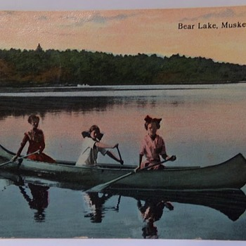 How Most Early Colour Postcards Were Made