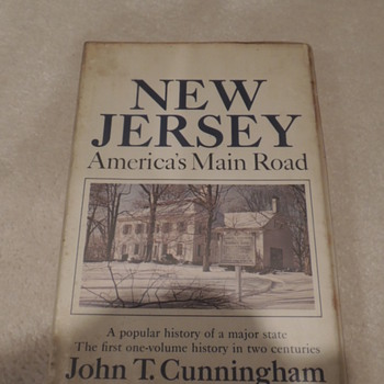 New Jersey America&#039;s Main Road by John T. Cunningham - Books
