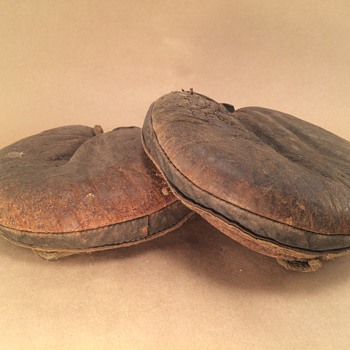 Early 1900's Catchers Mitts - Baseball