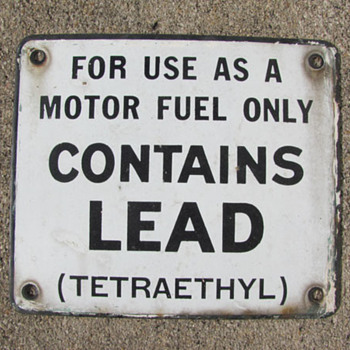 Contains Lead - Signs