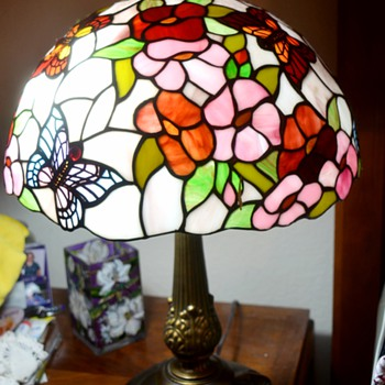 Tiffiany style lamps