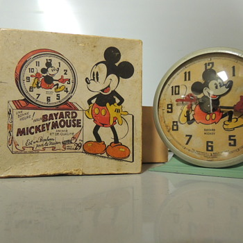 1930s BAYARD MICKEY MOUSE CLOCK