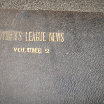 Vintage 1918 Dairymen's League News Book - Books