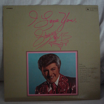 &quot;I LOVE YOU&quot; LIBERACE LP SIGN