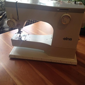 Vintage Elna Sewing Machine EC?