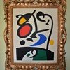 A Beautiful Miro Print finds a New Frame