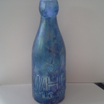 Cool old blue - Bottles