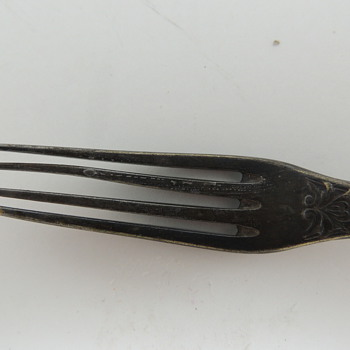 Fraget Silver Plated Fork 1896-1915