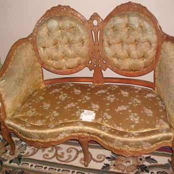 Deutsch Bros. LoveSeat.