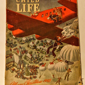 End of WW2 Child's Magazine - Paper