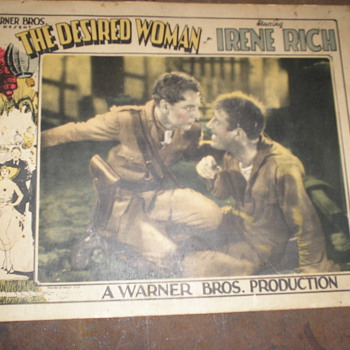 1928 The Desired Woman Lobby Card