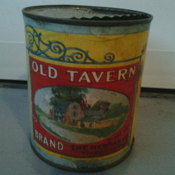 Old Tavern Brand by The Berdan Co. Original Can & Label - Advertising