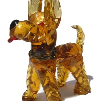 Who let the DOGS out......  ( Murano Art Glass )
