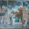 Maxfield Parrish scenes from mystery mural