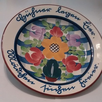 Villeroy & Boch Hand Painted Plate - China and Dinnerware