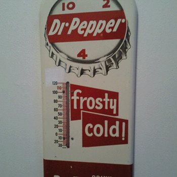 Dr Pepper Thermometer - Advertising