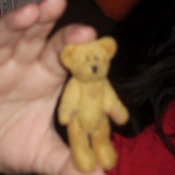 3in teddy bear - Dolls