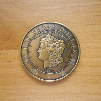 Vintage Castaways $1.00 Token - World Coins