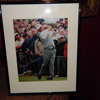 Signed Photo Golfer Who is he!!