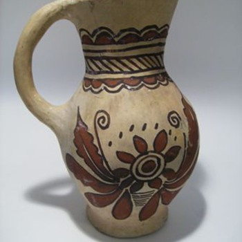 Native Pottery Pitcher ????