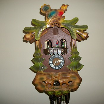 one day cuckoo clock - Clocks
