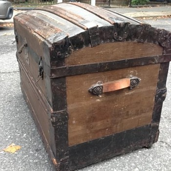 Domed Steamer Trunk
