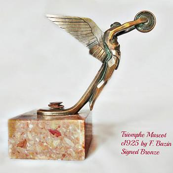 TRIOMPHE MASCOT BY F. BAZIN - Art Deco