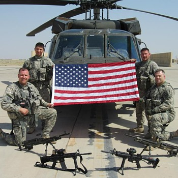 September 11,2011 Iraq,  Proud Army aviators.  - Photographs