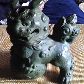 foo dog incense burneri - Asian