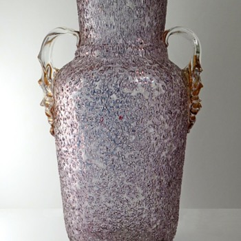 Just A Beautiful Czech Glass Vase - Art Glass
